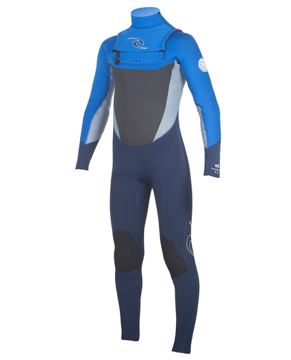 YOUTH DAWN PATROL CHEST ZIP 4/3 WETSUIT