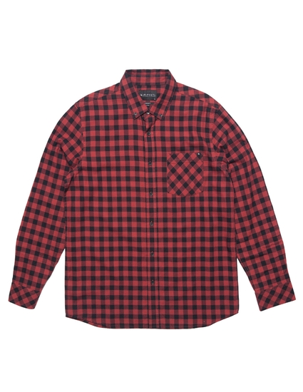 CHECKED OUT L/S WOVEN