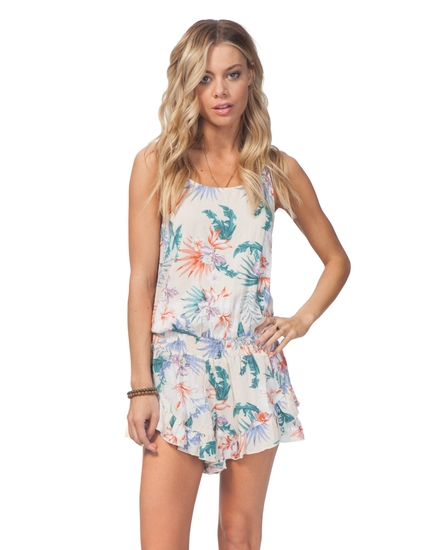 SNOW LOTUS ROMPER