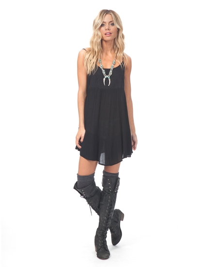 BLACK MAGIC SOLID DRESS