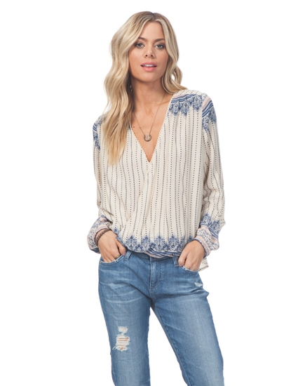 WINTER BIRD TOP