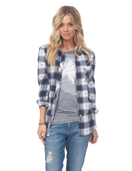 STARDUST FLANNEL SHIRT