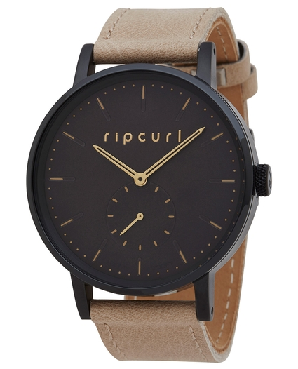 CIRCA MIDNIGHT LEATHER WATCH