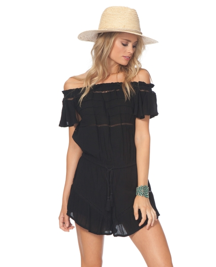 SUNDOWN SOLID ROMPER