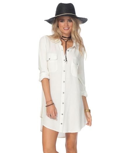 AVA SHIRT DRESS