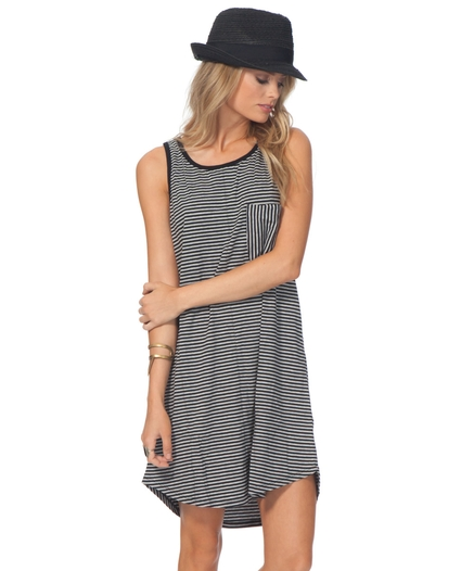 PREMIUM SURF STRIPE DRESS