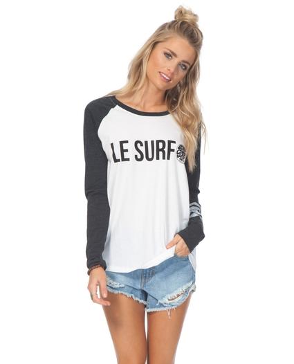 LE SURF L/S RAGLAN