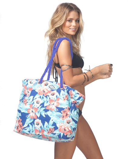 MIA FLOREZ BEACH BAG