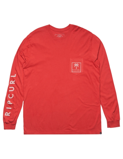 PALMS HERITAGE POCKET LONG SLEEVE