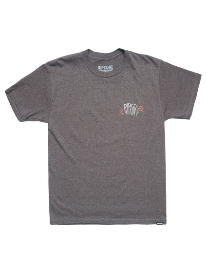 KIDS FIN LINES HEATHER TEE