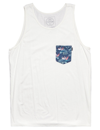 VALUES POCKET CUSTOM TANK TOP