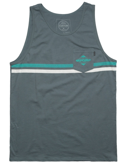 CROSSED POCKET CUSTOM TANK