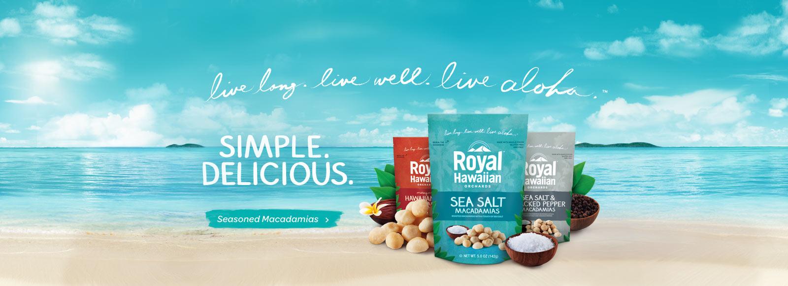 Seasoned Macadamia Nuts