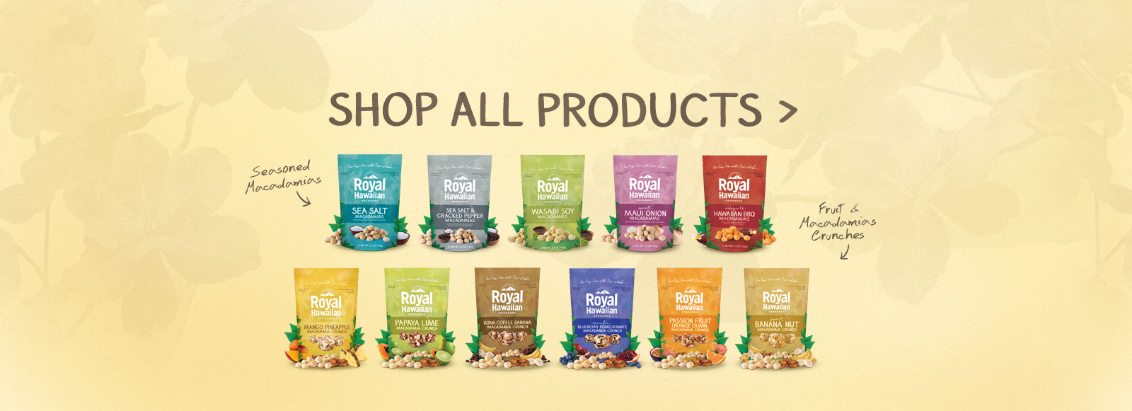 Shop Online For Seasoned and Macadamia Crunches