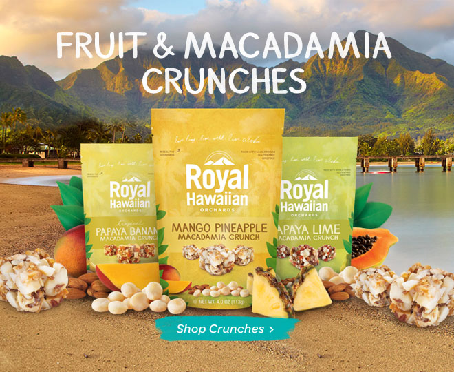 macadamia crunches