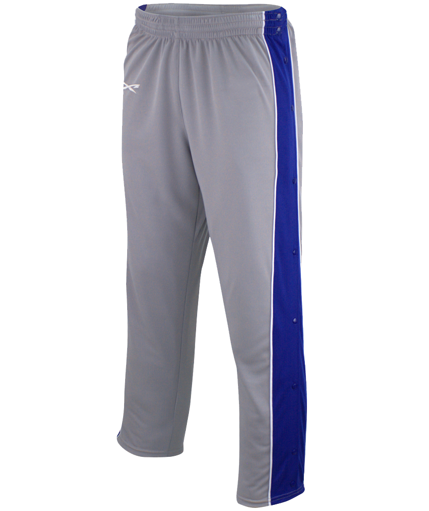 Alleson Youth Basketball Mesh Breakaway Warm-Up Pant. % eXtreme mock mesh Cationic colorfast polyester with moisture management fibers. Four needle covered elastic waistband, four snaps on waist to /5(16).