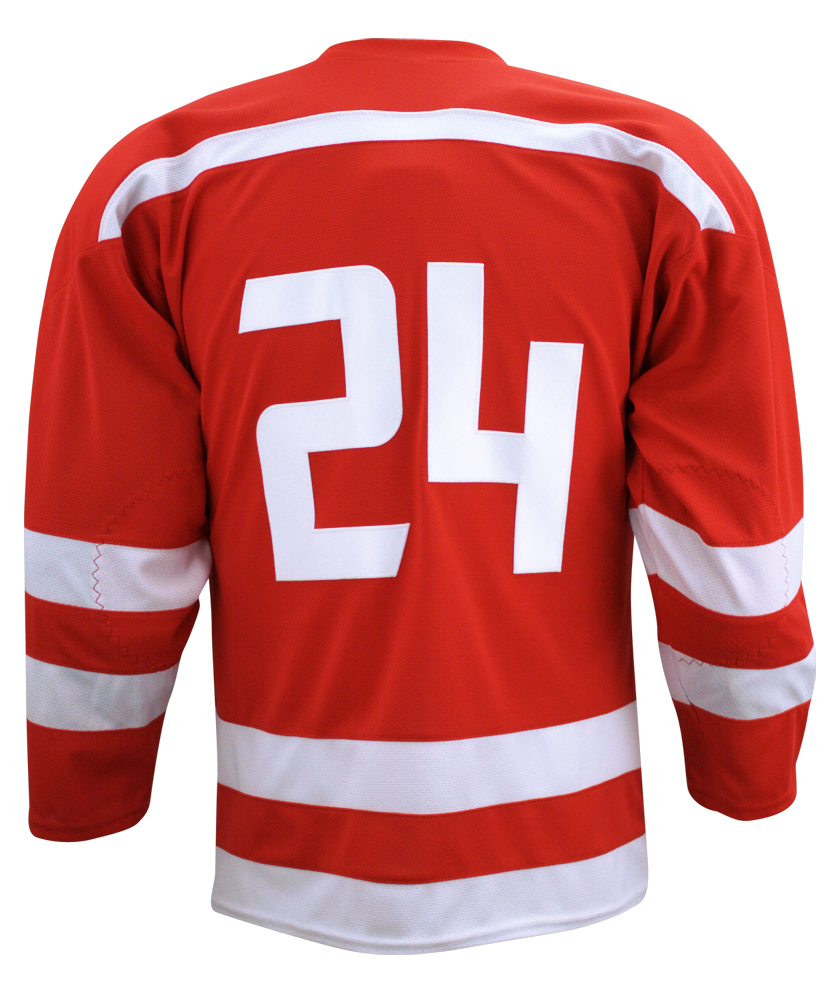 Custom Youth Hockey Uniforms & Jerseys Design Youth Hockey Jerseys and Uniforms Online. No Minimums or Set-ups. Order custom youth ice hockey uniforms with no minimums or setup fees. Use our Online Designer to easily add your team name, mascot, player names and numbers. Team discounts are available. Browse the products below to get started.