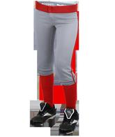 Rib Waist Youth Softball Pants