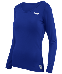 Athletic Fit Long Sleeve Performance Girl's Top