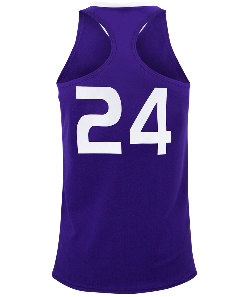 Baseline Racerback Women S Basketball Jersey Maxim Athletic