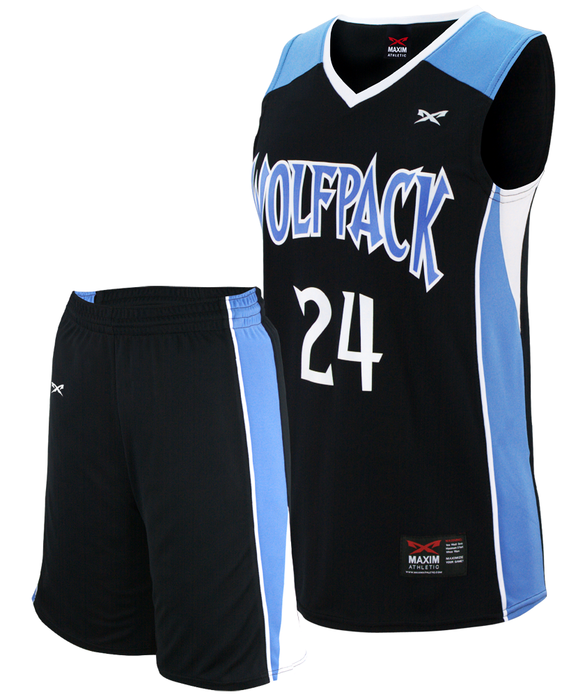 Fadeaway Youth Basketball Jersey Maxim Athletic