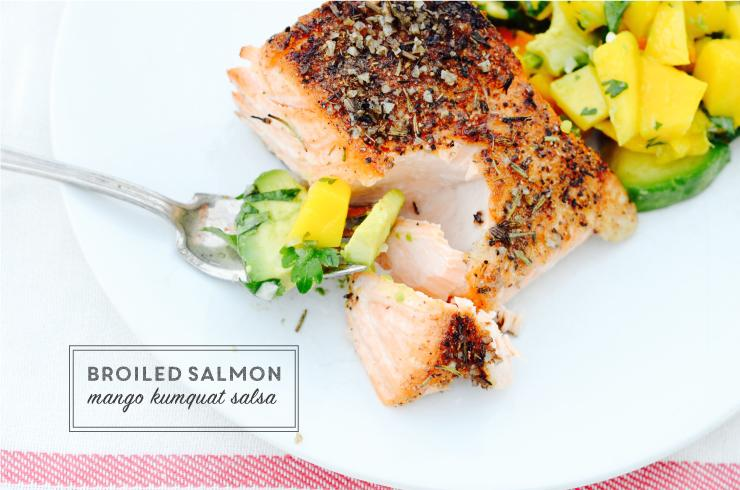 healthy salmon to be grilled or broiled. The perfect summertime dinner essential.
