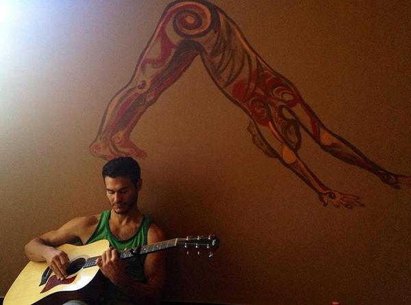guitar yoga studio