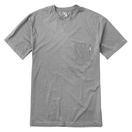 TRADEWIND PERFORMANCE TEE HEATHER GREY