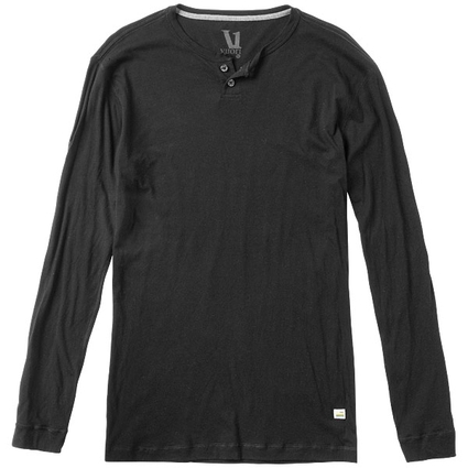 EVER LS HENLEY BLACK
