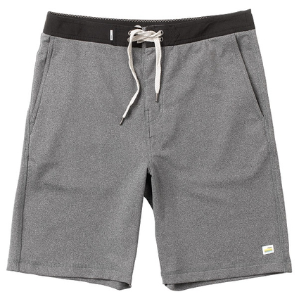 CROSS TRAINER SHORT HEATHER GREY