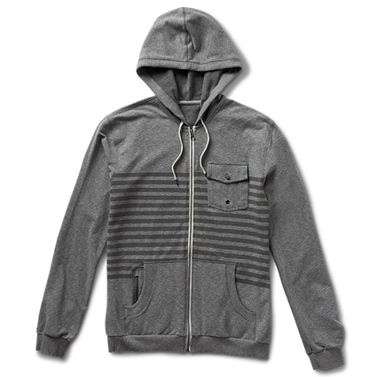 SHASTA HOODIE GREY HEATHER