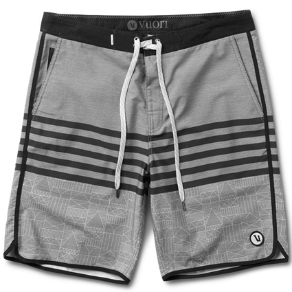CRUISE BOARDSHORT GREY ENCINITAS HOUSE