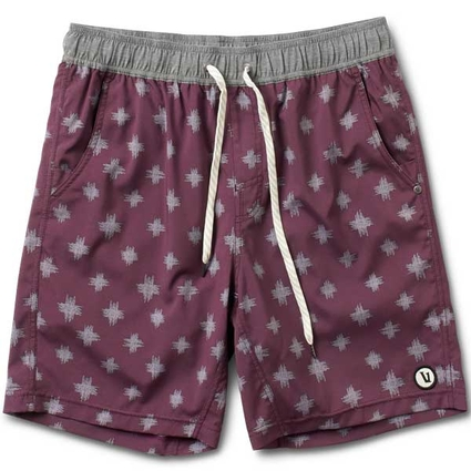 KORE SHORT: BURGUNDY POSITIVE