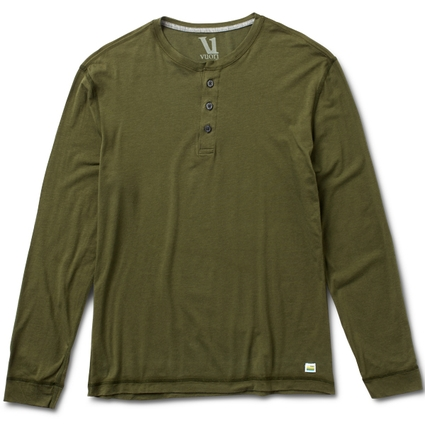 EVER LS HENLEY OLIVE