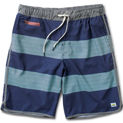 THE BANKS: NAVY-MINT STRIPE