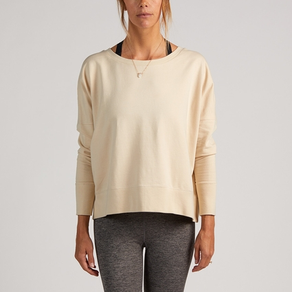 NOVA L/S SWEATSHIRT NATURAL