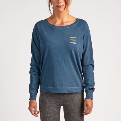 GRADIENT POCKET HIT PULLOVER BLUE