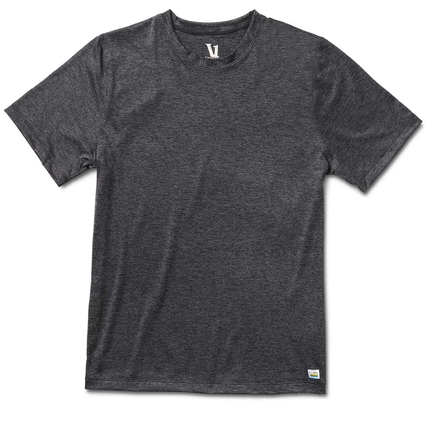 STRATO TECH TEE HEATHER CHARCOAL