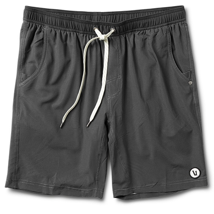 KORE SHORT BLACK CHARCOAL STRIPE