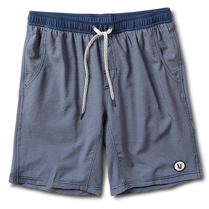 KORE SHORT NAVY CHARCOAL STRIPE